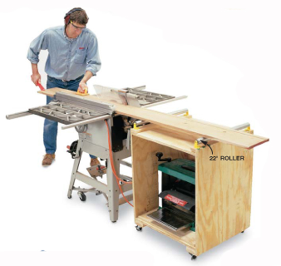 Double Duty Planer Stand Popular Woodworking Magazine