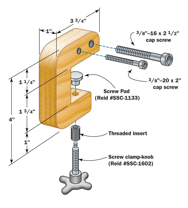 fence micro adjuster diagram