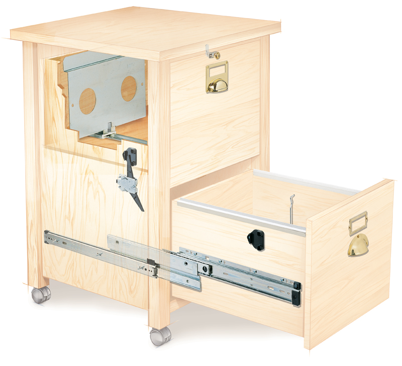 How To Build A  Drawer Cabinet