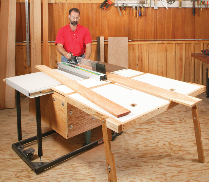 Aw Extra 8 16 12 Folding Outfeed Table Popular