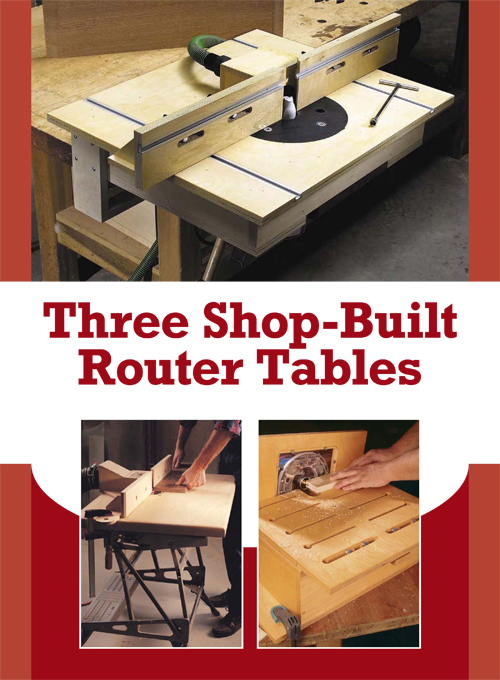 3 Free DIY Router Table Plans Perfect for Any Purpose