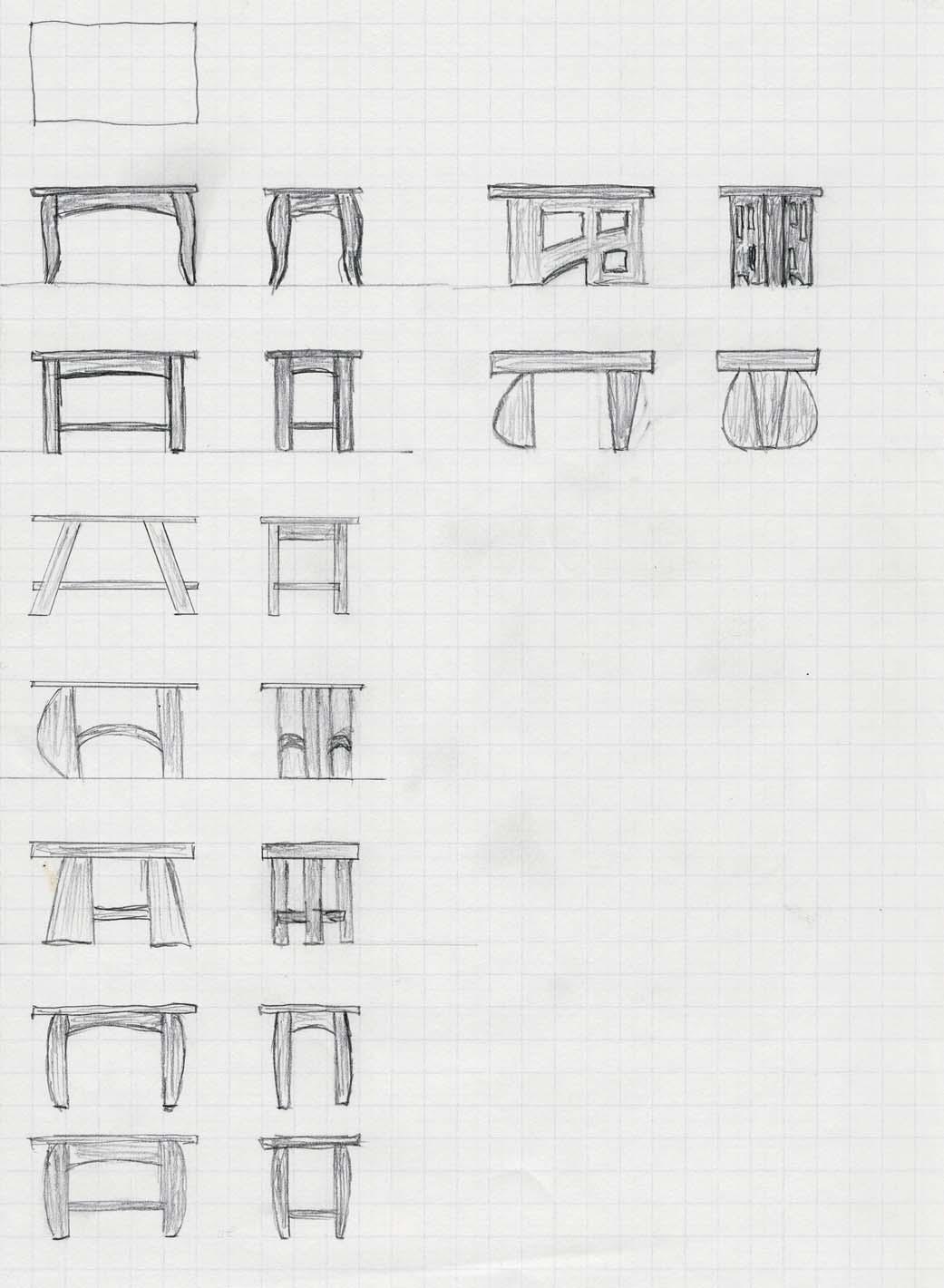 Sketching And Design Development Popular Woodworking Magazine