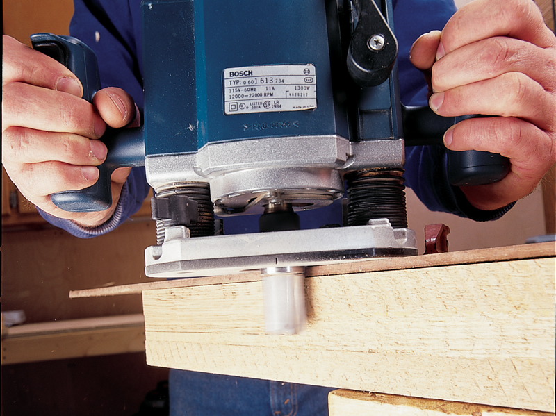 Q A Jointing Thick Wood With A Router Popular Woodworking Magazine