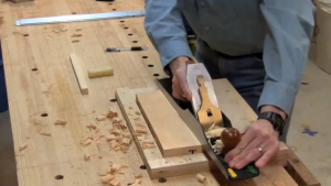 Steve Branam's online course shows you how to use woodworking hand tools like planes