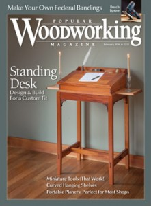 2016 Issues Of Popular Woodworking Magazine Popular Woodworking