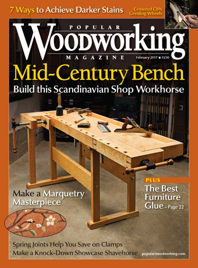 Popular Woodworking Magazine February 2017 Popular Woodworking