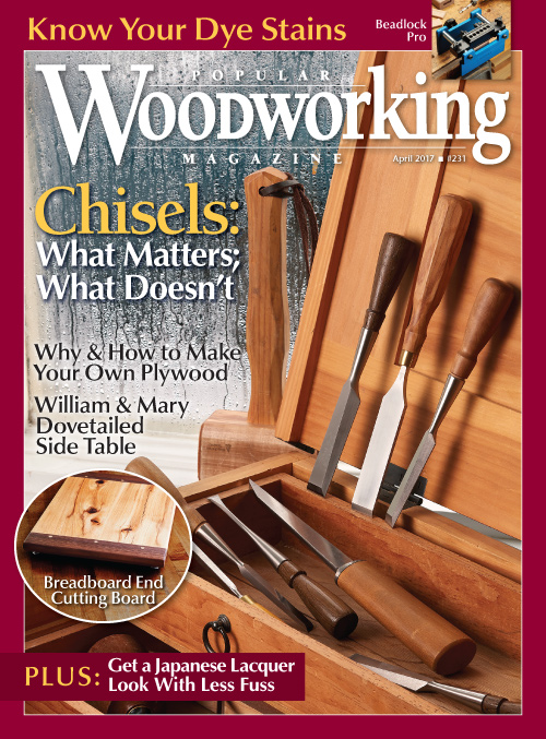 Popular Woodworking Magazine April 2017 Popular Woodworking Magazine