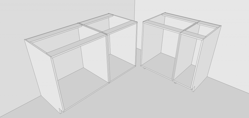 Draw cabinets quickly with components.