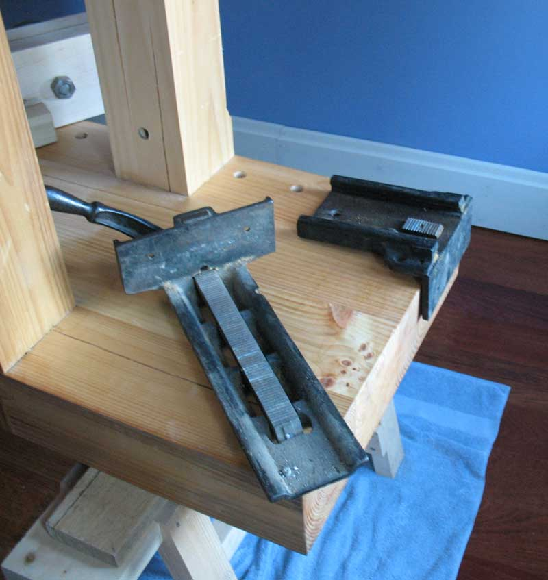Install A Sheldon Vise On A Roubo Woodworking Bench