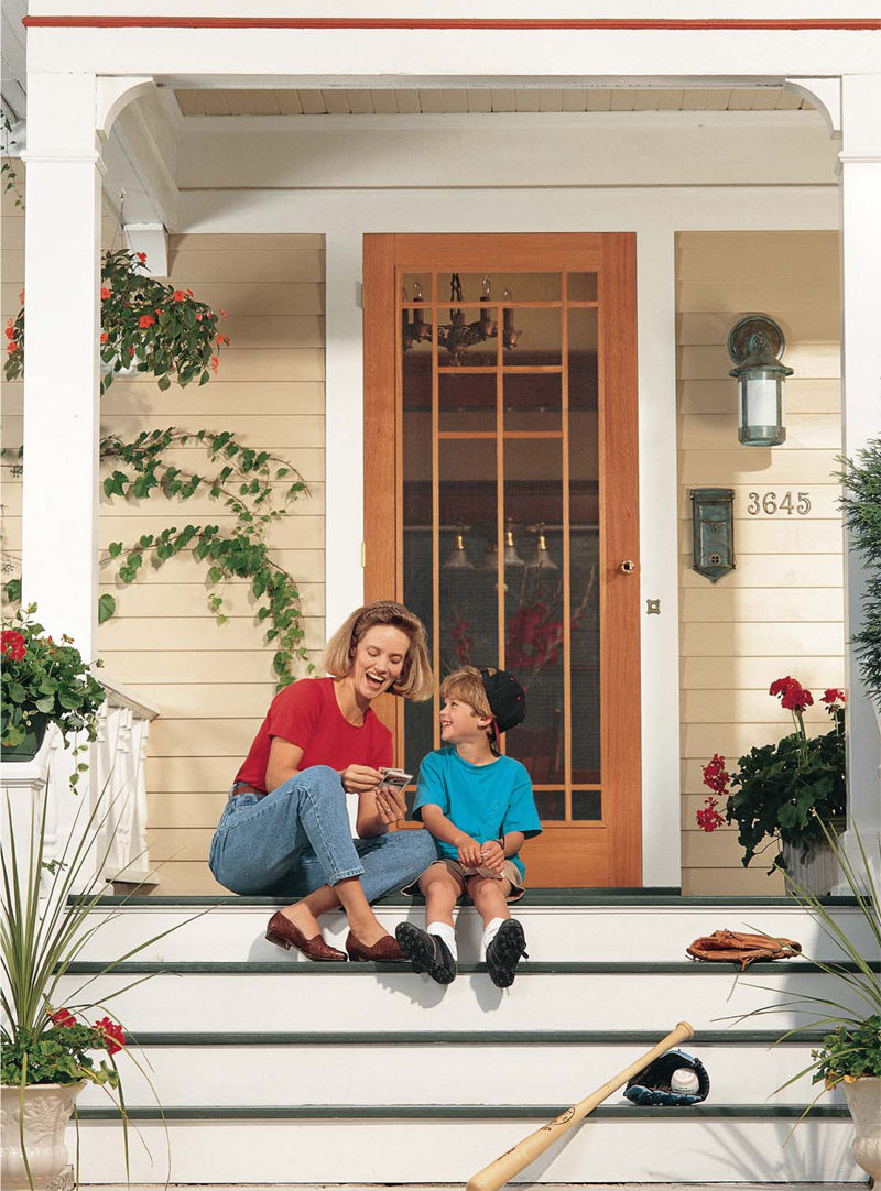 - Wooden Storm Door Popular Woodworking Magazine