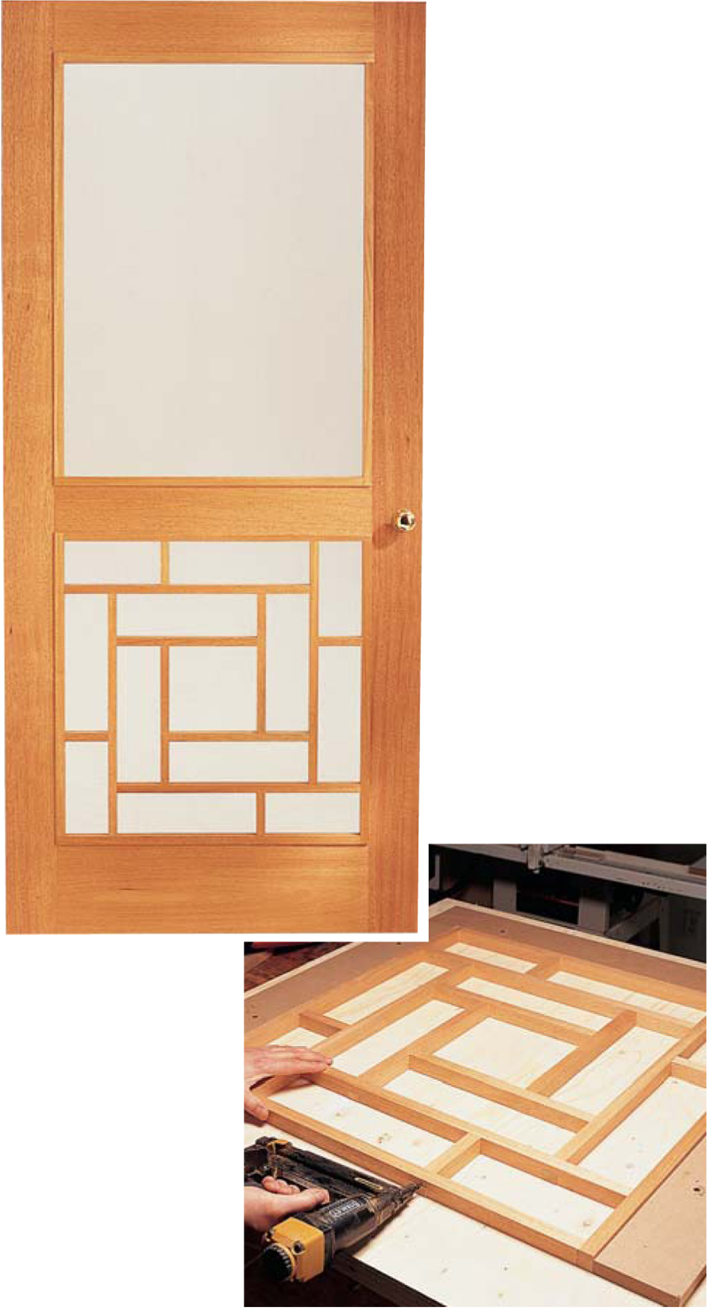 Wooden storm door popular woodworking magazine