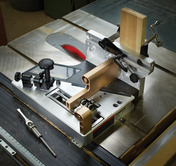 Tool Test Powermatic Table Saw Tenon Jig Popular Woodworking Magazine