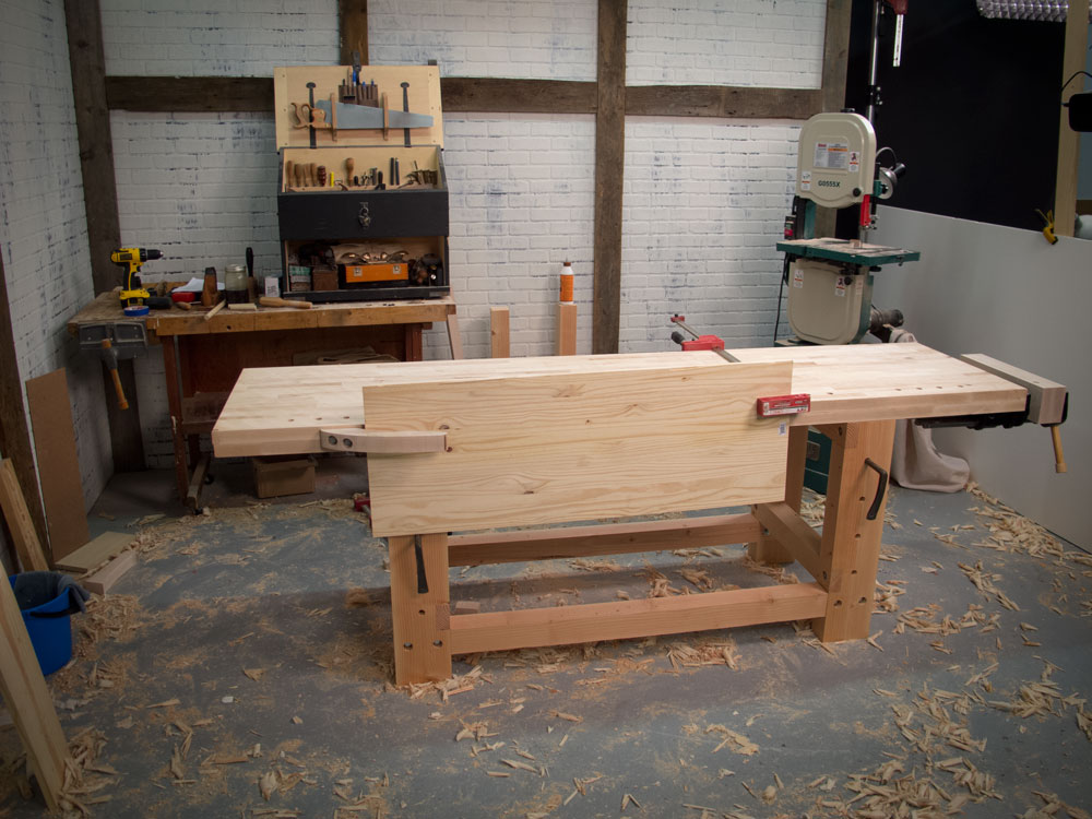 Notes On The Two Day Workbench Popular Woodworking Magazine