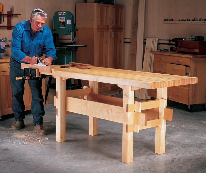 Do It Yourself Garage Workbench Plans: Popular Woodworking Magazine