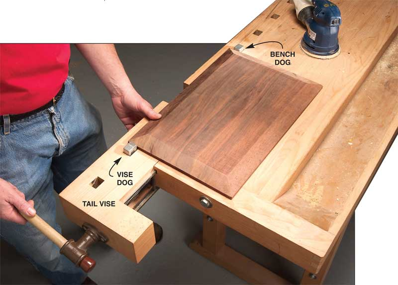 Q & A: What's a Tail Vise? - Popular Woodworking Magazine