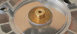 A brass inlay kit is a must-have accessory for inlay work.